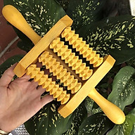 Dụng cụ lăn Masage toàn thân Đa Năng bằng gỗ tự nhiên (MH896) Giúp lưu thông máu, tăng cường sức khoẻ (MH896. thumbnail