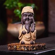 Tượng tam đa phúc lộc thọ di lặc hoan hỉ gốm sứ trang trí nhà cửa vật phẩm phong thủy thumbnail
