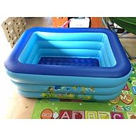 Bể bơi hình chữ nhật 3 tầng đủ kích cỡ thumbnail