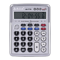 Musical Desktop Calculator 12-Digits LCD Display with 3.5mm Audio Jack Adjustable Volume Cable Electronic Calculator thumbnail