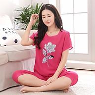 Đồ bộ ngủ Sayhome S2BO01-FHO màu hồng thumbnail