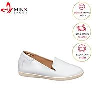 Min s Shoes - Giày Lười Da Thật GL50 Trắng thumbnail