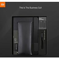 Bộ quà tặng văn phòng Xiaomi Kinbor, bút, sổ tay, dấu trang, hộp bút chì, thumbnail