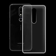 Ốp lưng cho Nokia 6.1 plus X6 - 01171 - Ốp dẻo trong - Hàng Chính Hãng thumbnail