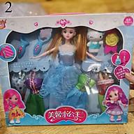 Bộ đồ chơi búp bê babie thời trang đầy đủ quần áo siêu dễ thương cho bé gái thumbnail