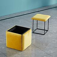 Ghế khối Rubik, đôn ghế sofa gấp gọn 5 Trong 1 có Bánh Xe Di Chuyển- ghế khối rubik phòng khách thumbnail