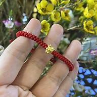 Vòng Dây Chỉ Đỏ Charm Trâu Vàng 24K thumbnail