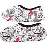 Vớ Snoopy Chống Trợt Trong Nhà Màu Đen thumbnail