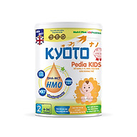 Sữa bột dinh dưỡng Kyoto PEDIA KIDS Giúp trẻ ăn ngon, ngủ ngon, cho hệ tiêu hóa của bé khỏe mạnh, Dành cho trẻ biếng ăn chậm lớn NUTRI PLUS 6-36 tháng -900G thumbnail
