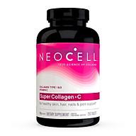 Viên uống Collagen NeoCell Super Collagen +C và Biotin mẫu mới thumbnail