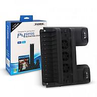 Đế Tản Nhiệt Kèm Khay Đựng Đĩa Game Cho Máy PS4 Pro & PS4 Slim Hàng Nhập Khẩu thumbnail