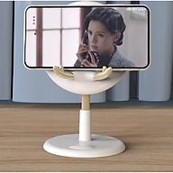 Giá đỡ điện thoại để bàn hình hươu có thể treo móc khóa ( Giao màu ngẫu nhiên) - Hàng chính hãng thumbnail