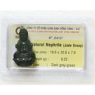 Tượng Phật Ngọc Bích - Tượng Phật Phong Thủy - Đá Phong Thủy Ngọc Bích - J54107 thumbnail