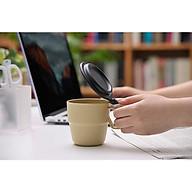 Cốc súp có nắp đậy 300ML cao cấp màu Vàng nhạt Nội địa NHẬT BẢN thumbnail
