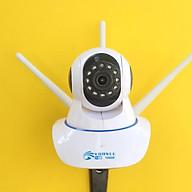 Camera IP Wifi trong nhà đàm thoại 2 chiều Yoosee 3 Anten công nghệ mới Full HD 1080P New 2020 - Hàng nhập khẩu thumbnail