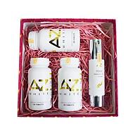 Liệu trình 3 hộp Thực phẩm chức năng AZ White Viên uống trắng da + Tặng 1 Serum Giữ Ẩm Ngừa nếp nhăn và Làm Trắng Da AZ (50ml) thumbnail