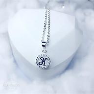 Dây chuyền QMJ Mặt chữ cái bạc 925 cao cấp - Q033 thumbnail