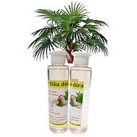 Combo 2 chai dầu dừa nguyên chất 150ml thumbnail