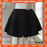 Quần váy bèo 2 tầng đen tầng tingoan HAZE SKORT BL thumbnail