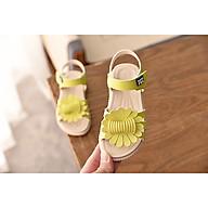 Giày sandal cho bé gái đính bông ES001 thumbnail