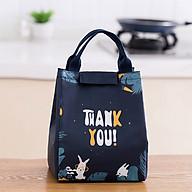 Túi đựng cơm trưa văn phòng tiện lợi, phù hợp cho cả nam và nữ thumbnail