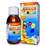 Siro Calci ABC - tăng trưởng chiều cao, giúp xương và răng chắc khỏe - 125ml thumbnail