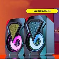 Loa FANTECH RGB 2.1 LeeFei 2021 Âm Thanh Vòm 3D, Dùng Cho Máy Tính, Laptop, PC, Tivi - Hàng Chính Hãng thumbnail