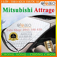 Bạt Phủ dành cho Ô Tô Mitsubishi Attrage Cao Cấp 3 Lớp Chống Nắng Nóng Chống Nước Chống xước thumbnail