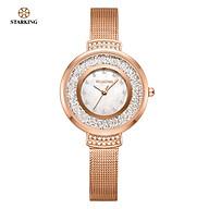 Đồng hồ Nữ STARKING TL0946MS31 Máy Pin (Quartz) Kính khoáng thumbnail