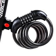 Khóa số Xe đạp, xe máy Chống Trộm có mã 5 số bảo mật cao Tặng bộ vá xe đạp thumbnail