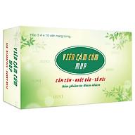 Thực Phẩm Chức Năng Viên Cảm Cúm MDP - Giảm cảm cúm, nhứt đầu, sổ mũi - Sản phẩm từ thiên nhiên thumbnail