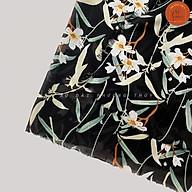 Vải Voan Chiffon hoa đều mềm mại, vải may đa dạng thumbnail