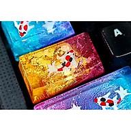 Keycap artisan cá koi 1.75u (phím caplock) trang trí bàn phím cơ gaming thumbnail