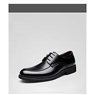 Giày nam da thật, giày công sở, giày tây giày doanh nhân giày giám đốc da thật phong cách Hàn Quốc năm 2021 Mã 31527 thumbnail