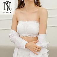 Áo lót, áo bra cúp ngực phối ren quyến rũ - Lê Ngọc Fashion thumbnail