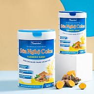 Sữa bột nghệ Colos Tumeric Nano Vinanutrifood chứa dưỡng chất DHA, Omega3, Choline bổ sung sắt, kẽm, magie giúp nâng cao hệ miễn dịch, giảm nguy cơ loãng xương giúp xương chắc khỏe thumbnail