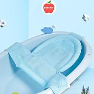 Lưới tắm cho bé, Lưới tắm cho trẻ sơ sinh, Lưới tắm bảo vệ cột sống an toàn cho bé thumbnail
