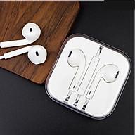 Tai nghe nhét tai Cao cấp dành cho iPhone 5 5s 6 6s 6 Plus - Hàng nhập Khẩu thumbnail