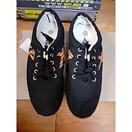 Giày vải đá bóng màu đen thumbnail