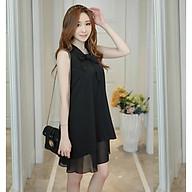 Đầm bầu váy bầu suông 2 tầng thắt nơ DN19072510 thumbnail