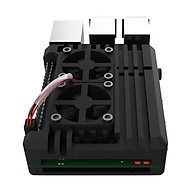 Đôi Quạt Làm Mát Vỏ Dành Cho Raspberry Pi 2B 3B PI 3B + 4B Phụ Kiện thumbnail
