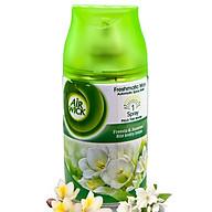 Bình xịt tinh dầu thiên nhiên Air Wick Freesia & Jasmine 250ml QT016836 - hương hoa nhài thumbnail