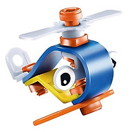 Đồ chơi phát triển kỹ năng Steam - Đồ chơi lắp ghép Build&Play - lắp ghép mô hình xe nâng - cần cẩu - ô tô - xe máy - máy bay Toyshouse 7703 - 7721 - 7722 -7754 thumbnail