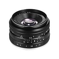 Lens Lấy Nét Thủ Công Cho Sony (35mm F 1.7) - Màu Đen thumbnail