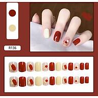 Bộ 24 móng tay giả nail thơi trang như hình (R-136) thumbnail