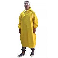 Áo mưa bít người vải dù tổ ong cao cấp freesize - Vàng thumbnail