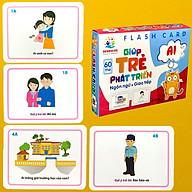Thẻ Học Thông Minh Flashcards Giúp Trẻ Phát Triển Ngôn Ngữ Và Giao Tiếp BENRIKIDS thumbnail