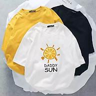 Áo Thun tay lỡ cho cả Nam và Nữ đẹp Hình DADDY SUN thumbnail