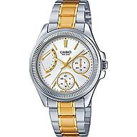 Đồng hồ nữ dây thép không gỉ Casio LTP-2089SG-7AVDF thumbnail