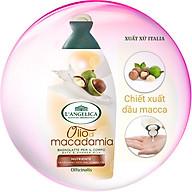 Gel sữa tắm tinh chất dầu Maca Italia chuẩn Châu Âu (Nourishing With Macadamia Oil) 500ml (Màu trắng hồng) thumbnail